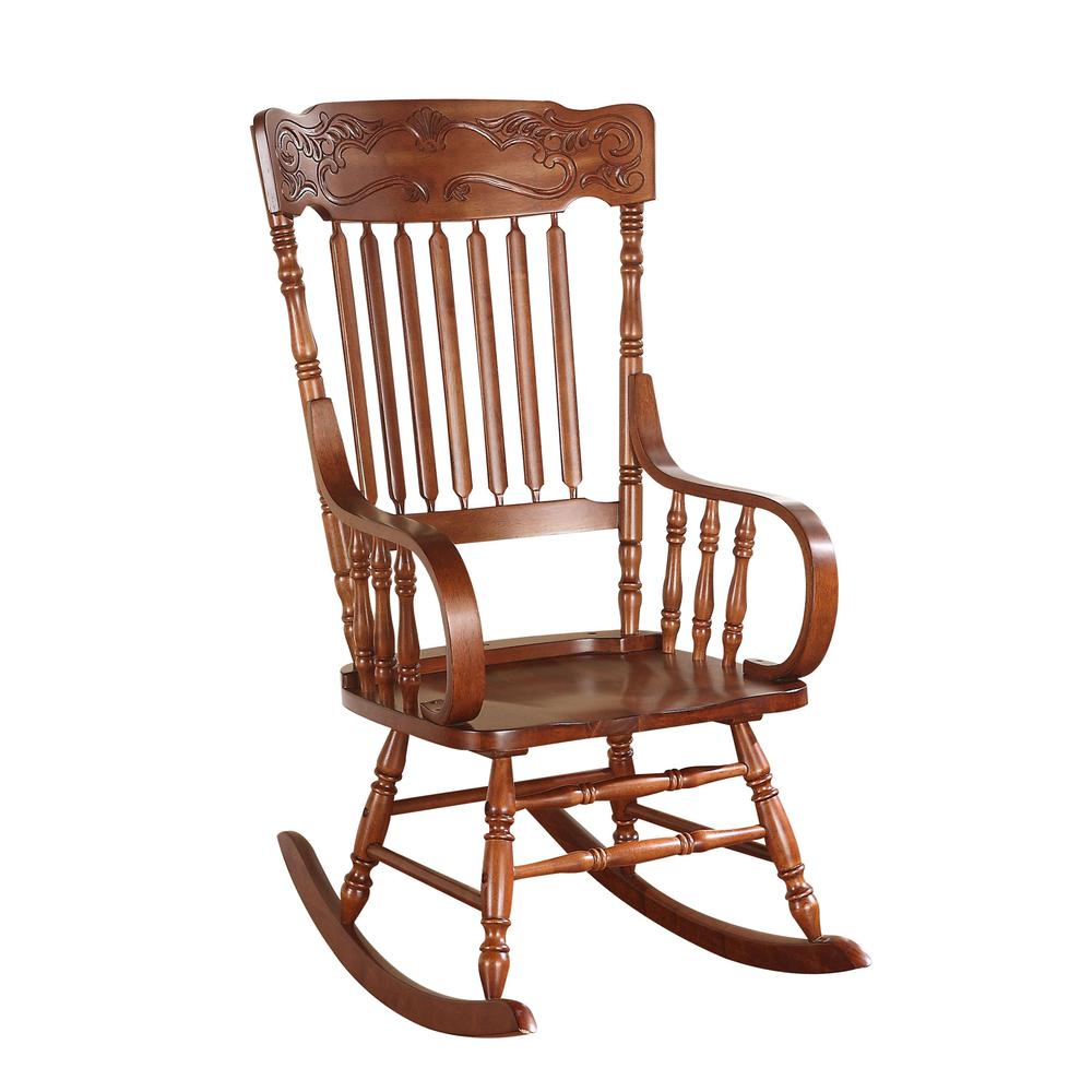 Kloris Youth Rocking Chair, Tobacco. Picture 2
