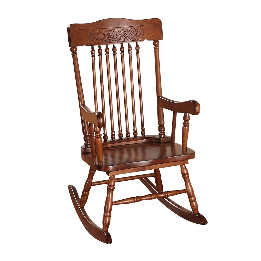 Kloris Youth Rocking Chair, Tobacco. Picture 8