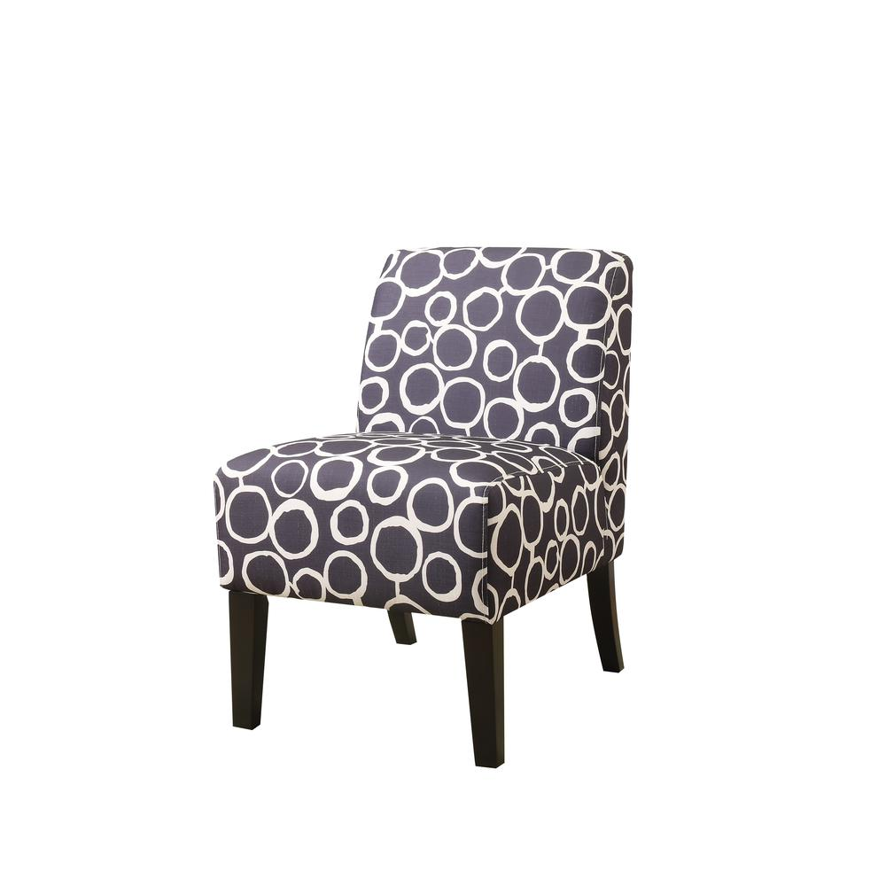 Ollano Accent Chair, Floral Fabric. Picture 10
