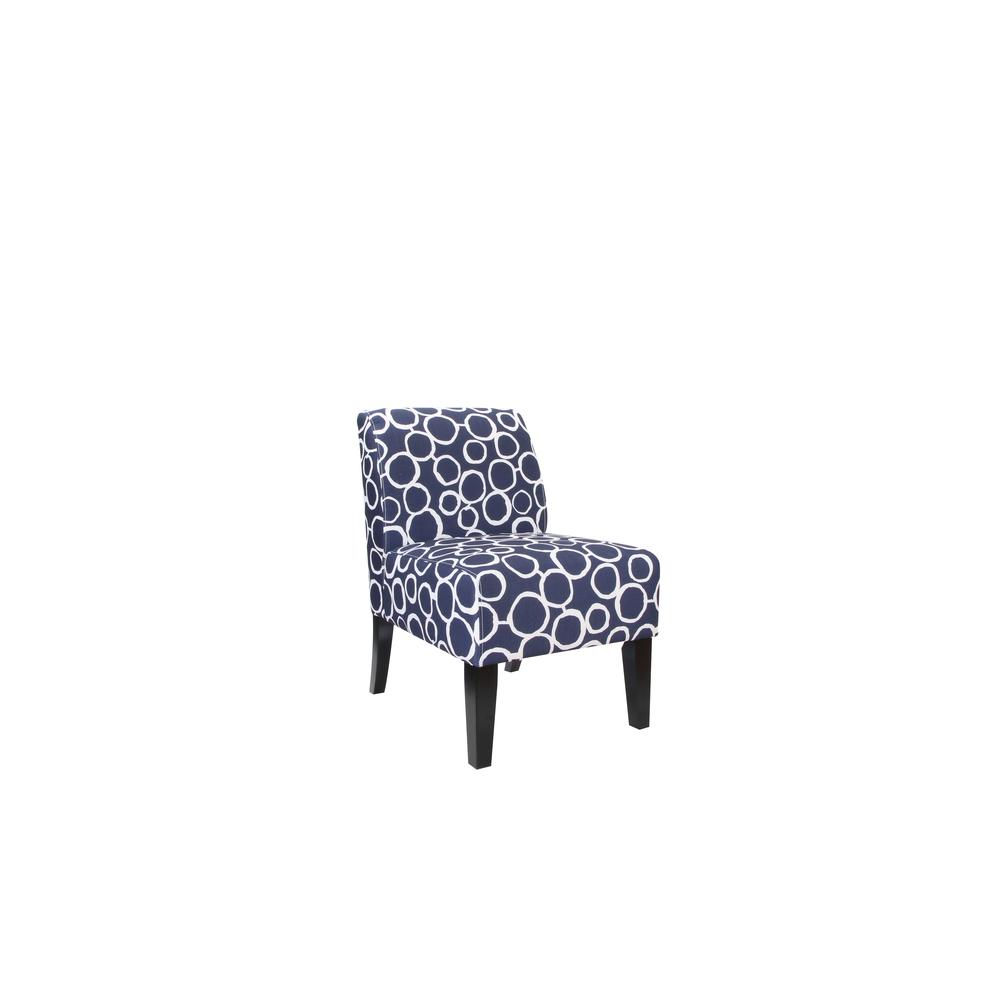 Ollano Accent Chair, Floral Fabric. Picture 11