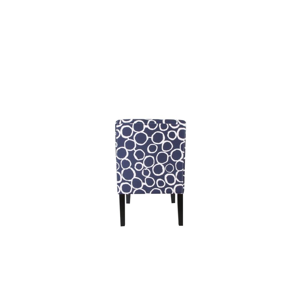 Ollano Accent Chair, Floral Fabric. Picture 12