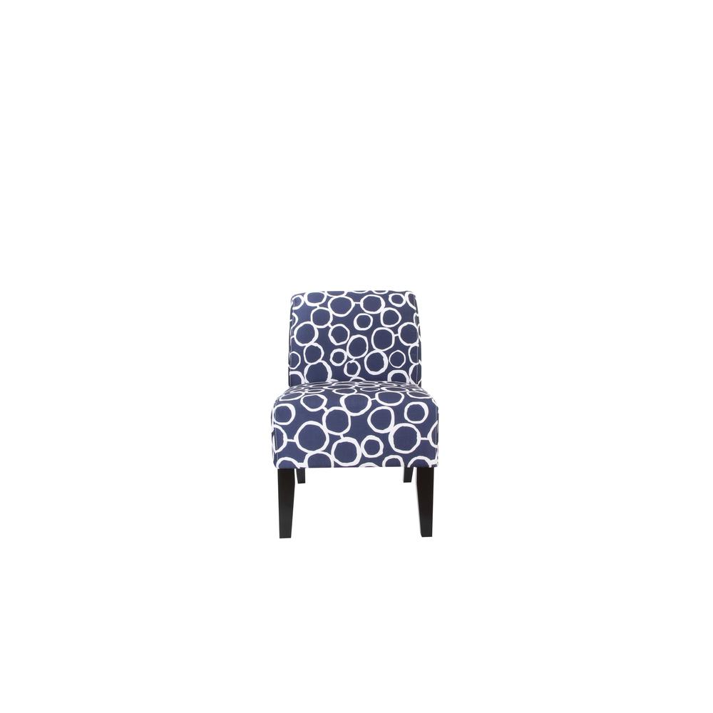 Ollano Accent Chair, Floral Fabric. Picture 13