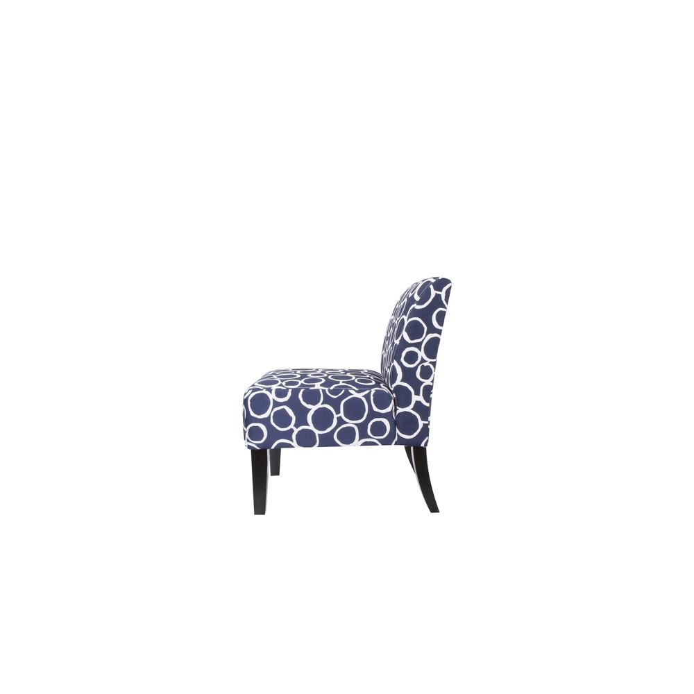 Ollano Accent Chair, Floral Fabric. Picture 14