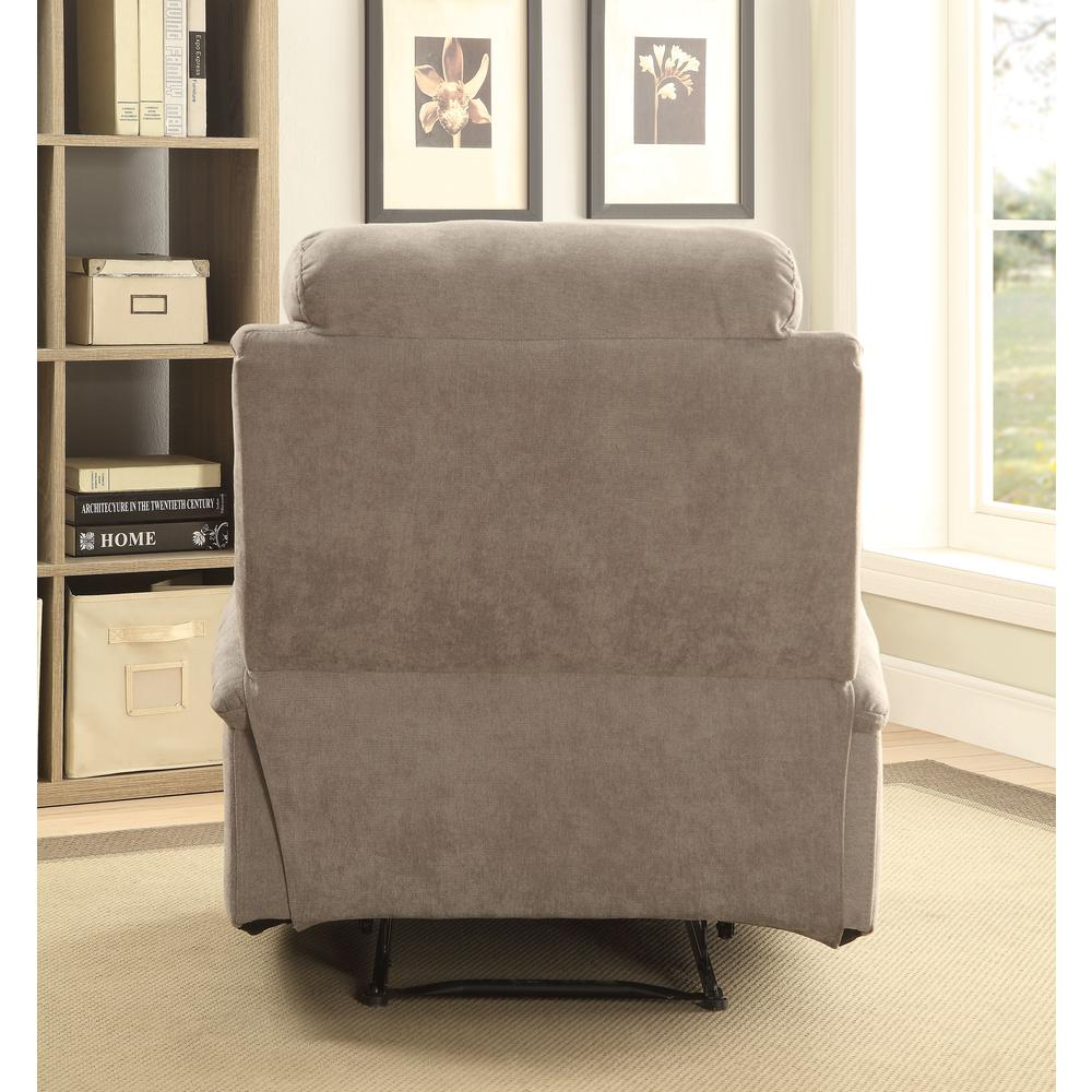 Rosia Recliner, Gray Velvet. Picture 2