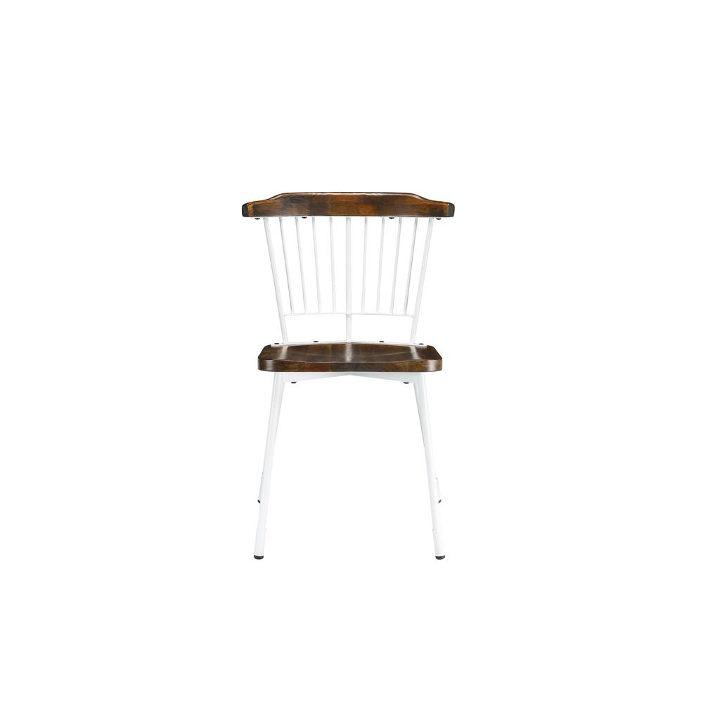 Orien Side Chair (Set-2), Teal & Brown Oak. Picture 14