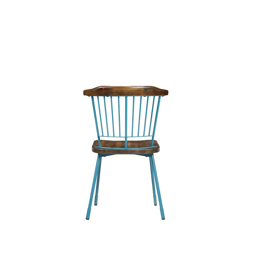 Orien Side Chair (Set-2), Black & Brown Oak. Picture 17