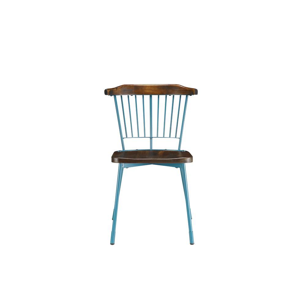 Orien Side Chair (Set-2), Black & Brown Oak. Picture 19