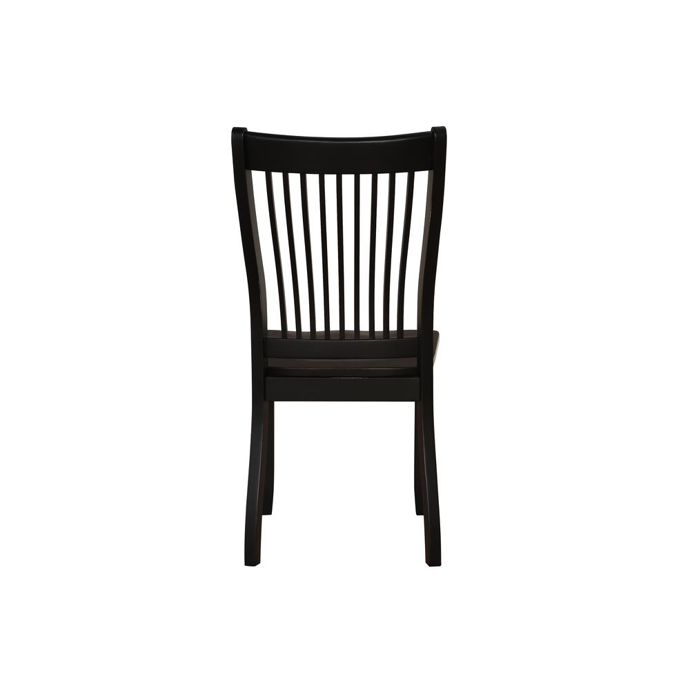 Renske Side Chair (Set-2), Black. Picture 2