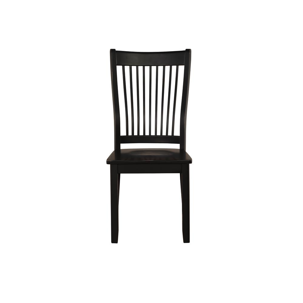 Renske Side Chair (Set-2), Black. Picture 3