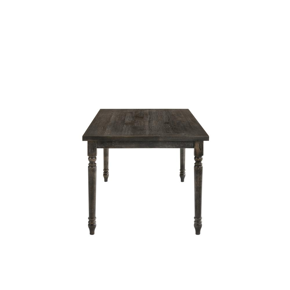 Claudia II Bench, Weathered Gray. Picture 3
