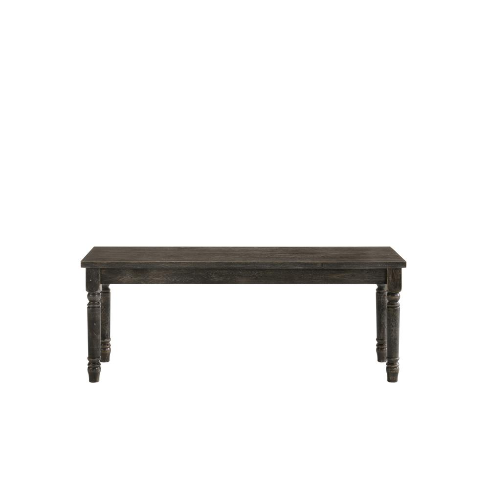 Claudia II Bench, Weathered Gray. Picture 10
