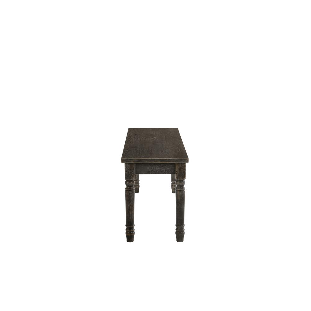 Claudia II Bench, Weathered Gray. Picture 11