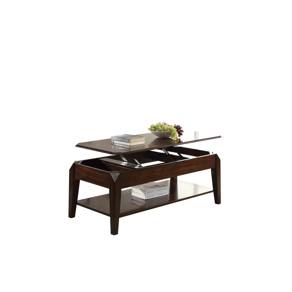 Docila End Table, Walnut. Picture 1