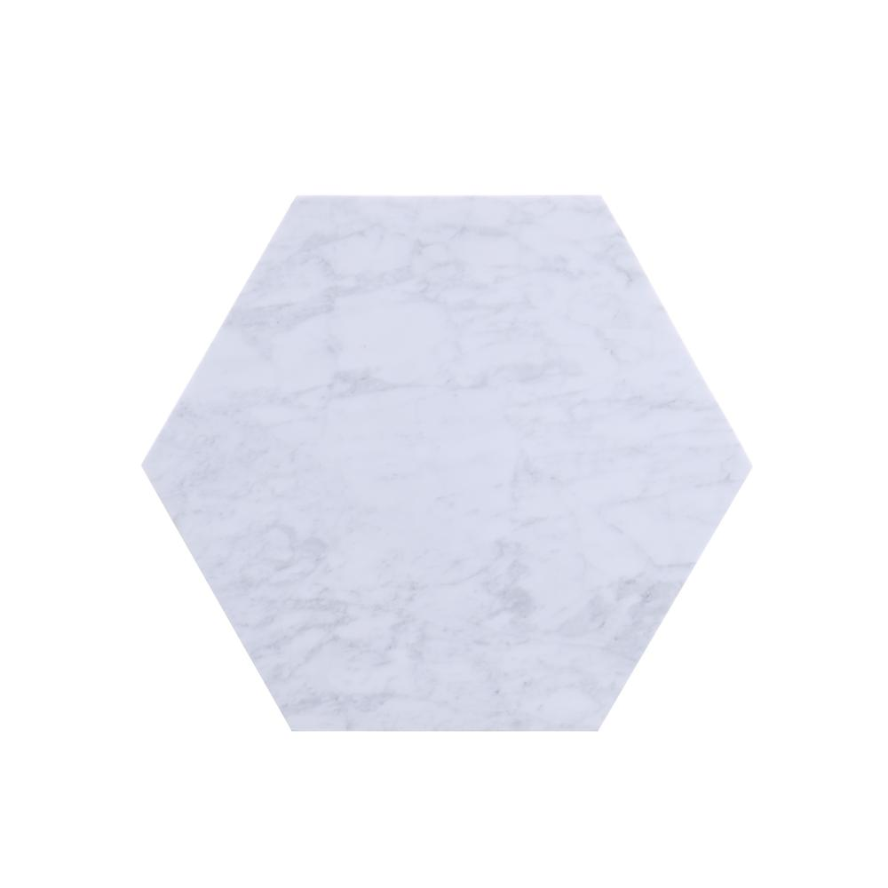 Reon Coffee Table, Marble & Gray. Picture 10