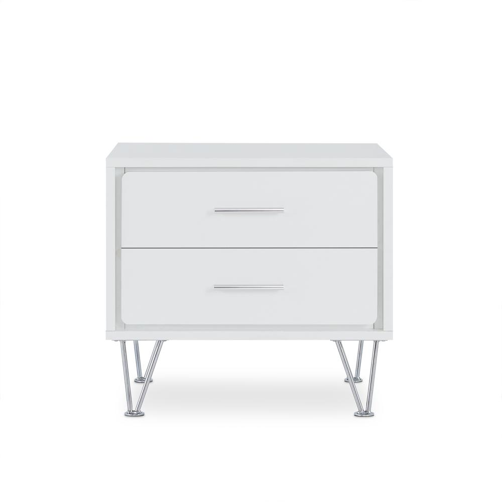 Deoss Night Table, White. Picture 11