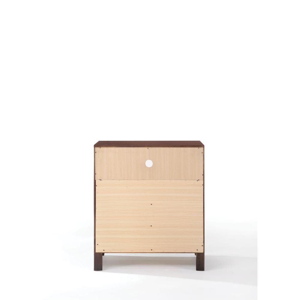 Ilana Queen Bed w/Storage, Brown PU & Brown Cherry, (1Set/3Ctn). Picture 27