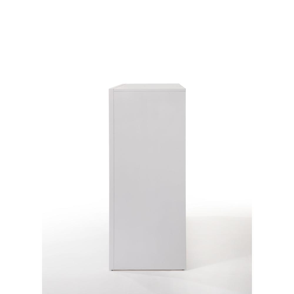 Ireland Queen Bed w/Storage, White (1Set/4Ctn). Picture 13