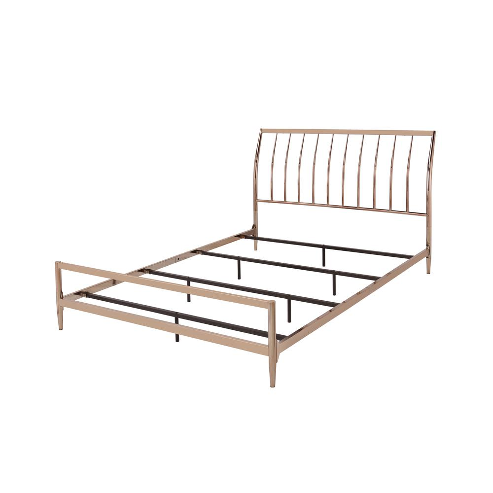 Marianne Queen Bed, Copper. Picture 2