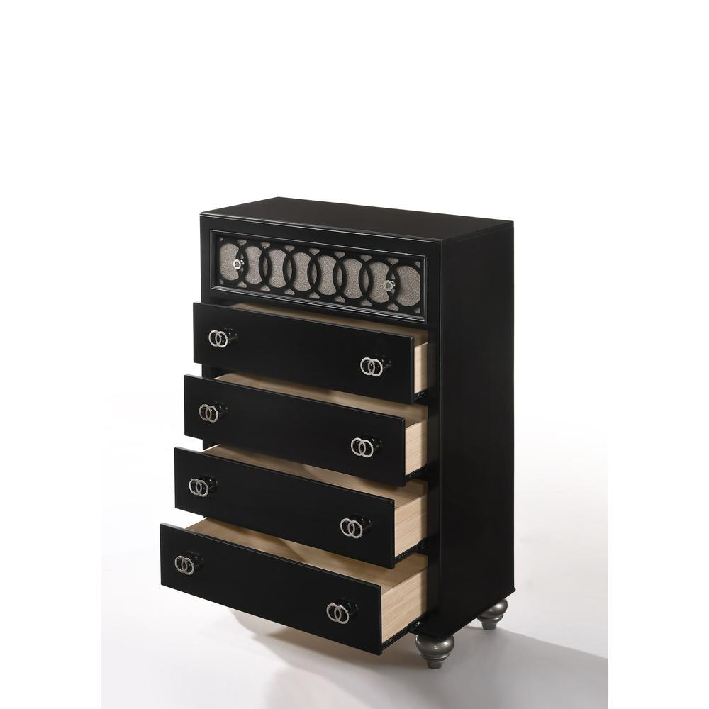 Ulrik Queen Bed, Copper & Black (1Set/2Ctn). Picture 19