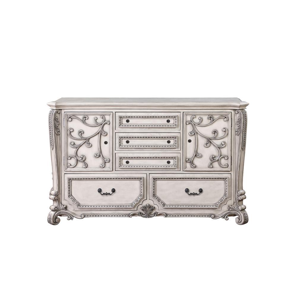 Braylee Dresser, Antique White. Picture 3