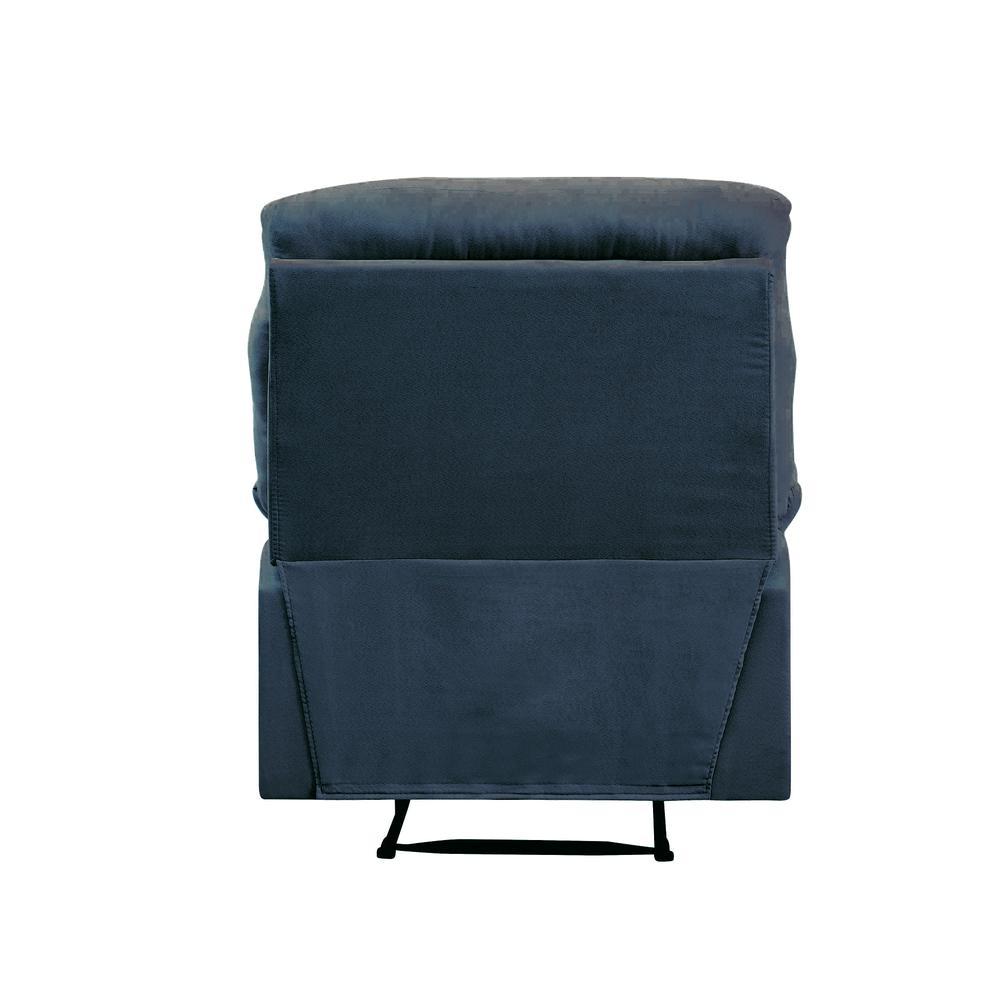 Arcadia Recliner, Blue Fabric. Picture 4