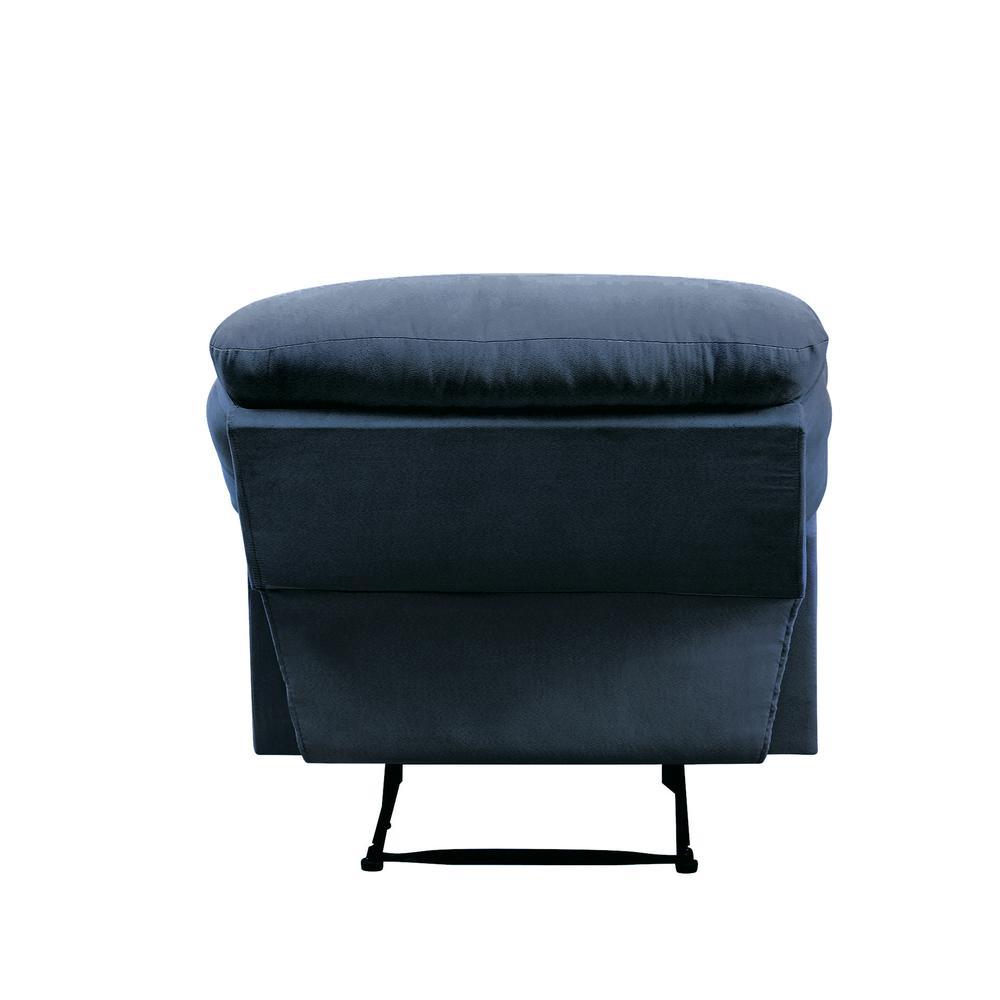 Arcadia Recliner, Blue Fabric. Picture 5