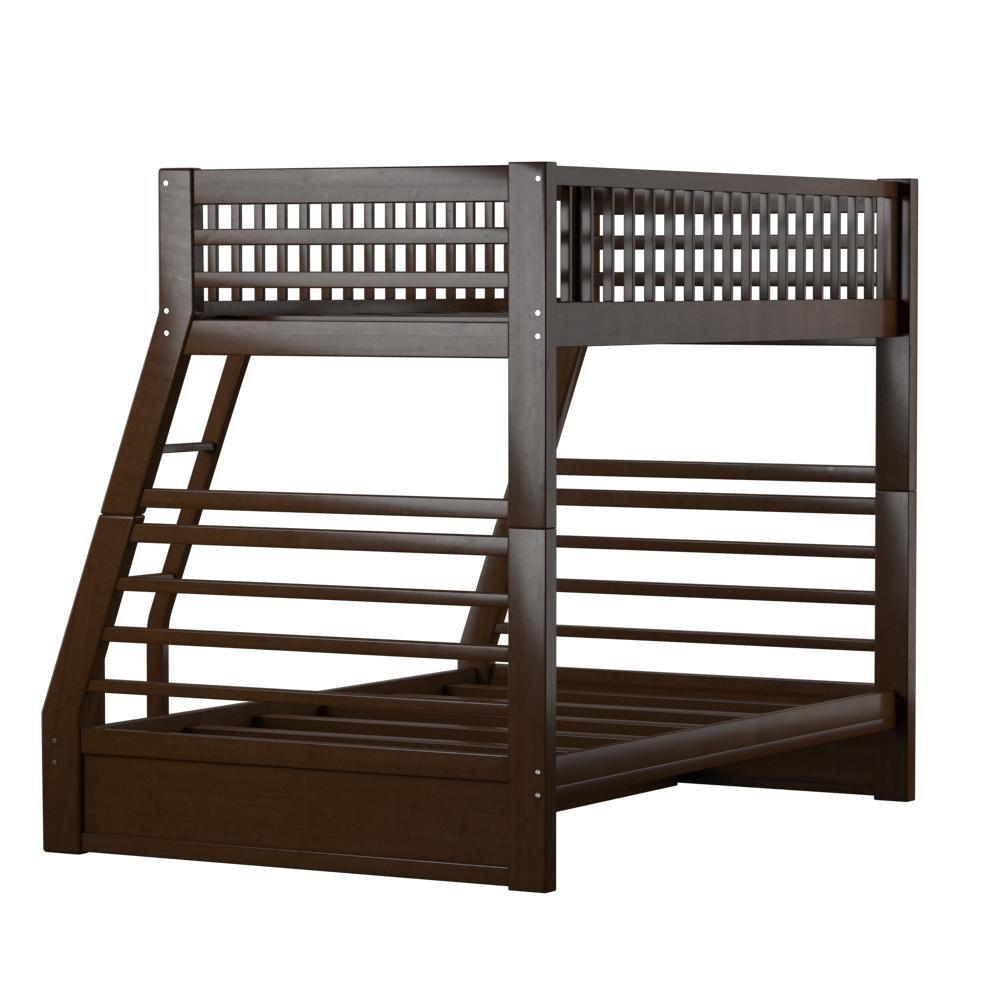 Jason Twin/Full Bunk Bed & Drawers, Espresso (1Set/2Ctn). Picture 8