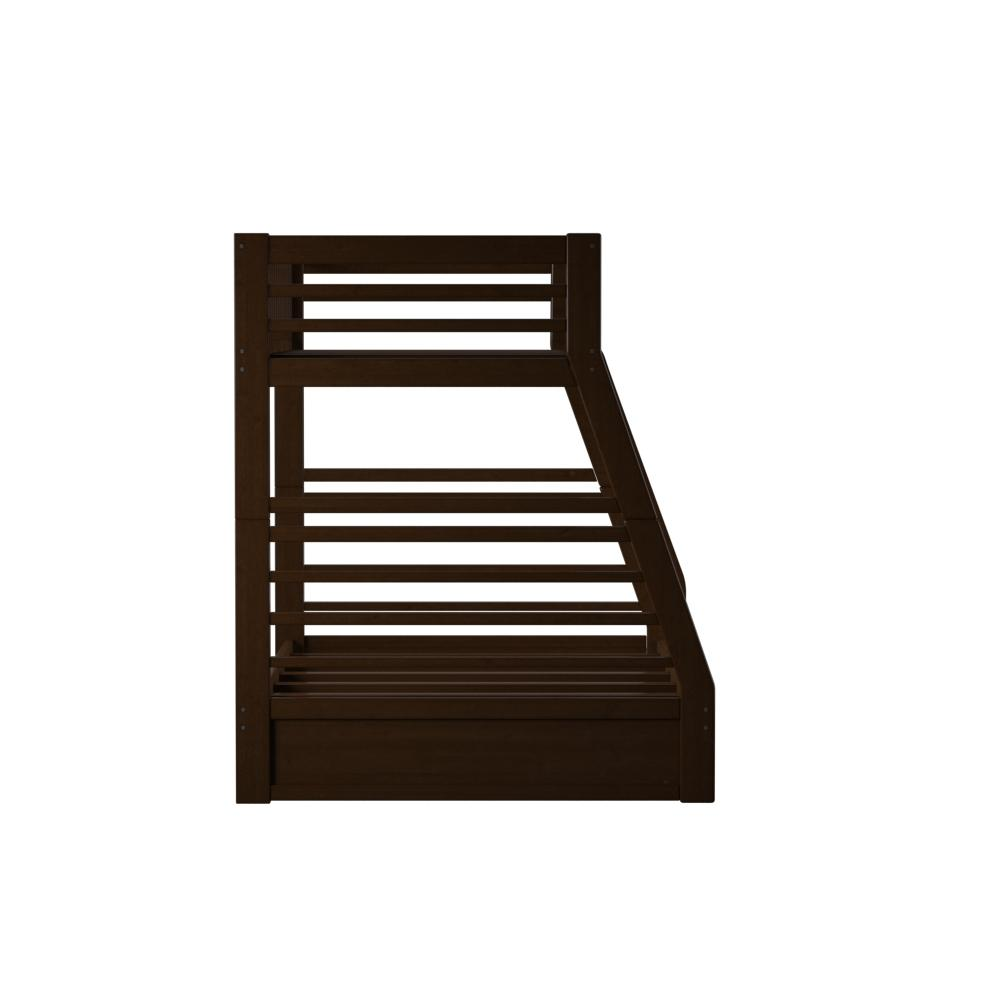 Jason Twin/Full Bunk Bed & Drawers, Espresso (1Set/2Ctn). Picture 10
