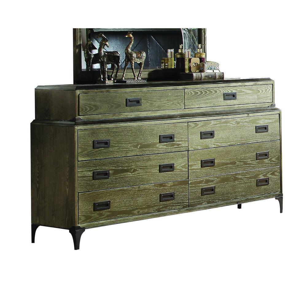Athouman Dresser, Weathered Oak. Picture 1