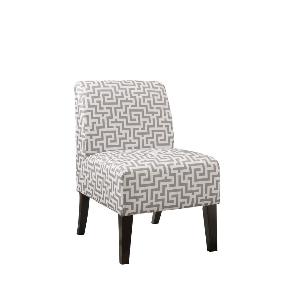Ollano Accent Chair, Floral Fabric. Picture 5