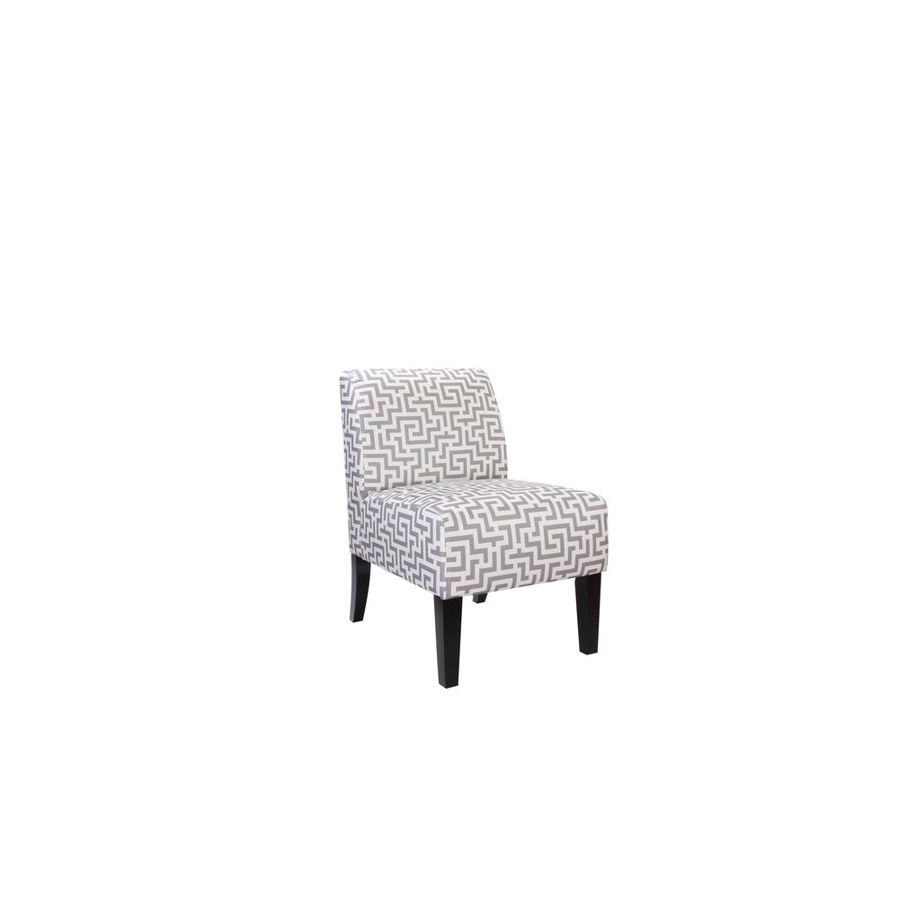Ollano Accent Chair, Floral Fabric. Picture 6