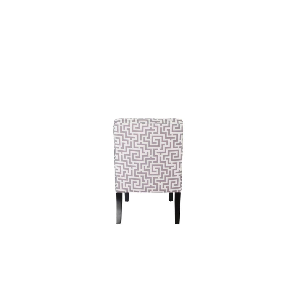 Ollano Accent Chair, Floral Fabric. Picture 7