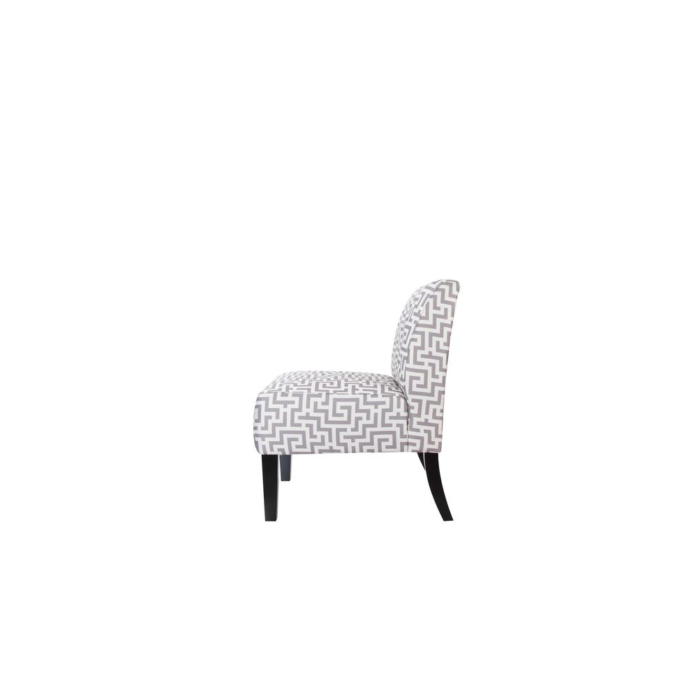 Ollano Accent Chair, Floral Fabric. Picture 9