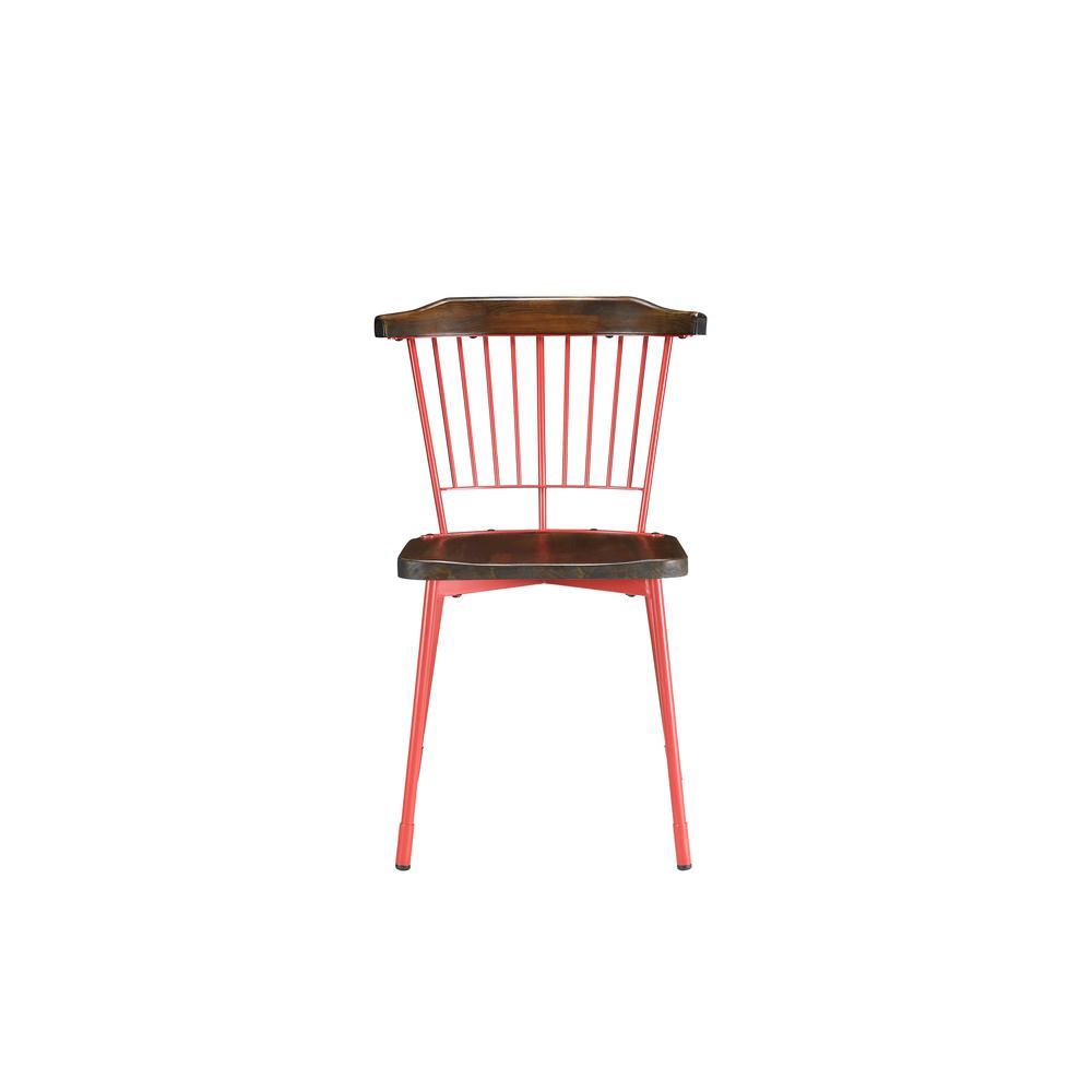 Orien Side Chair (Set-2), Black & Brown Oak. Picture 9