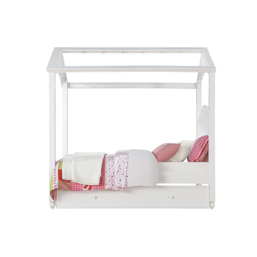 Rapunzel Twin Bed, White (1Set/2Ctn). Picture 2