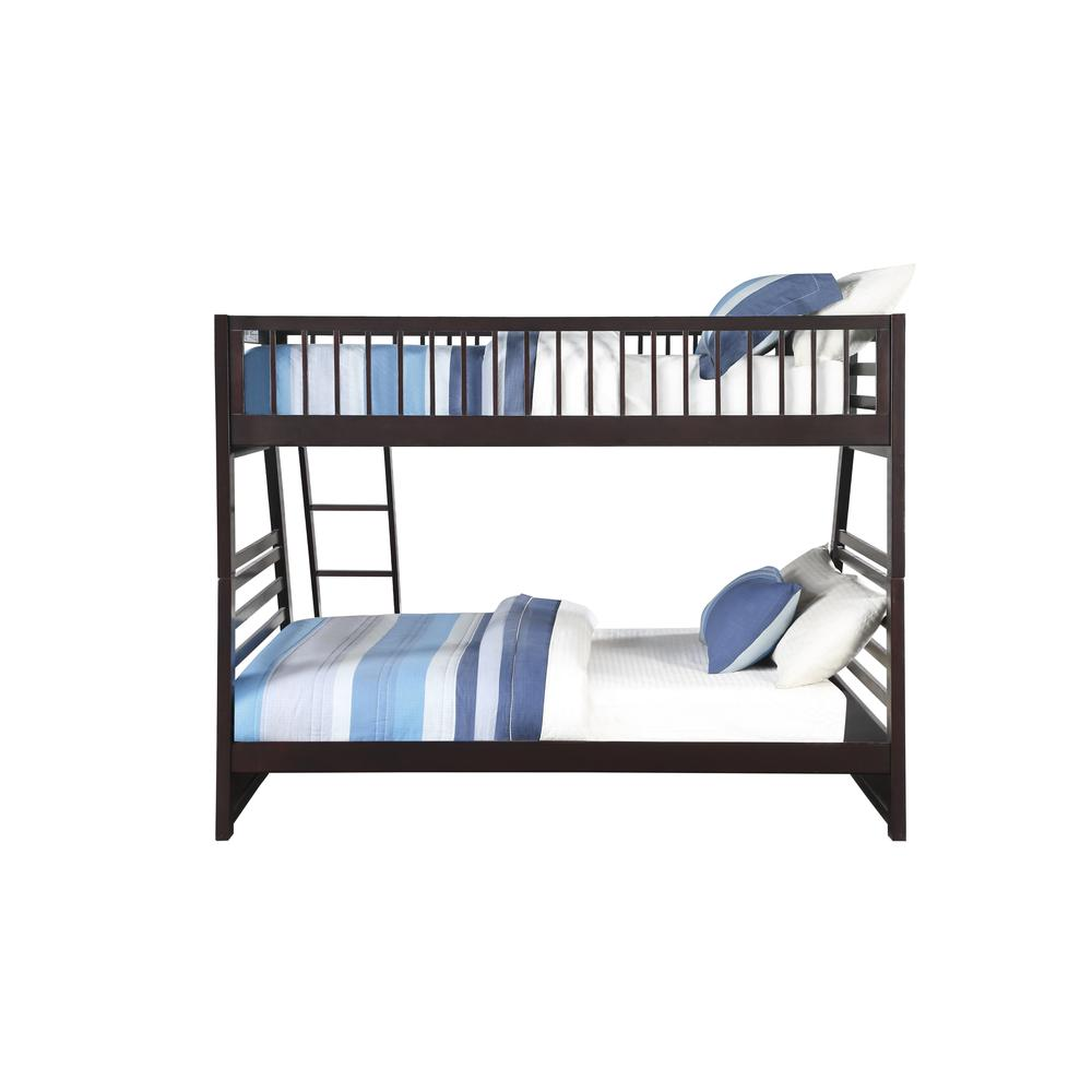 Jason XL Twin/Queen Bunk Bed & Drawers, Espresso (1Set/2Ctn). Picture 2