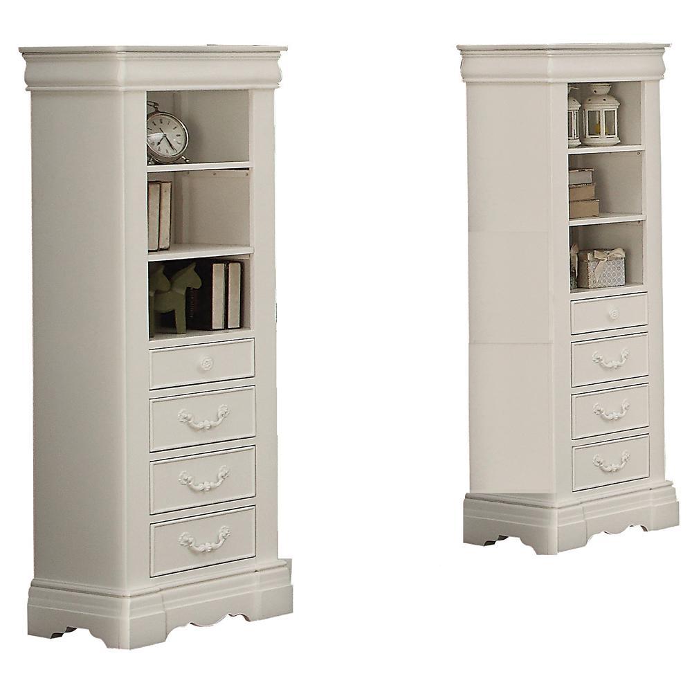 Estrella Daybed w/Storage, Twin Size, White (1Set/3Ctn). Picture 5