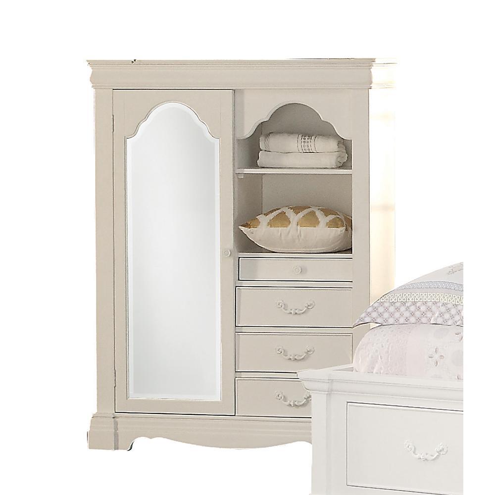 Estrella Daybed w/Storage, Twin Size, White (1Set/3Ctn). Picture 6