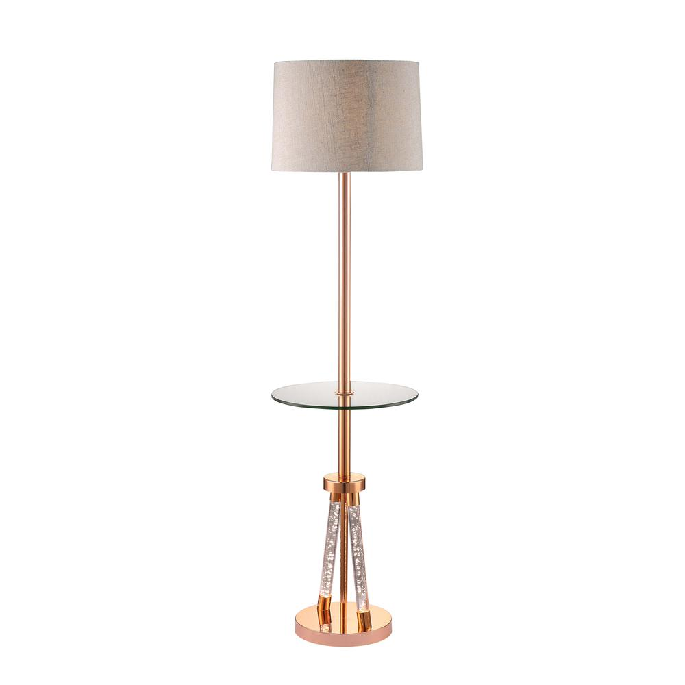 Cici Floor Lamp, Rose Gold. Picture 1