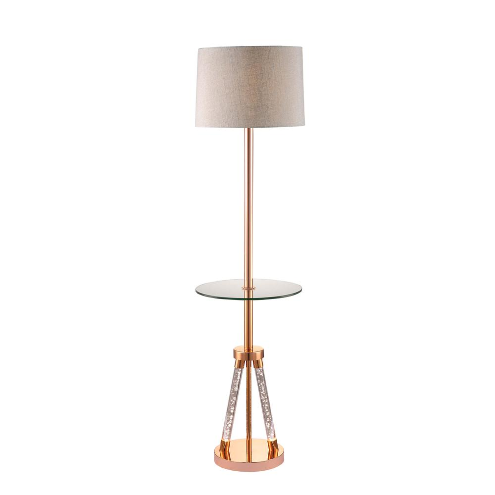 Cici Floor Lamp, Rose Gold. Picture 2