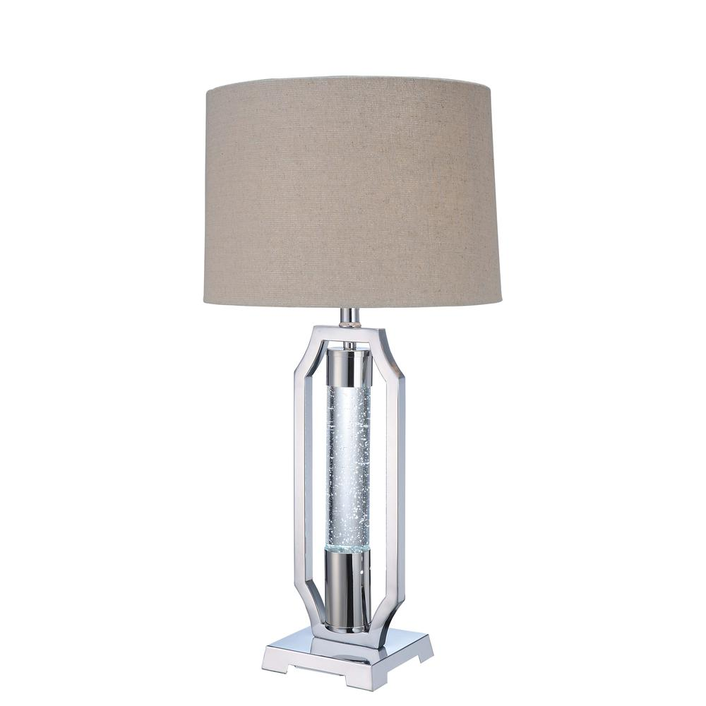 Cici Table Lamp, Chrome. Picture 1