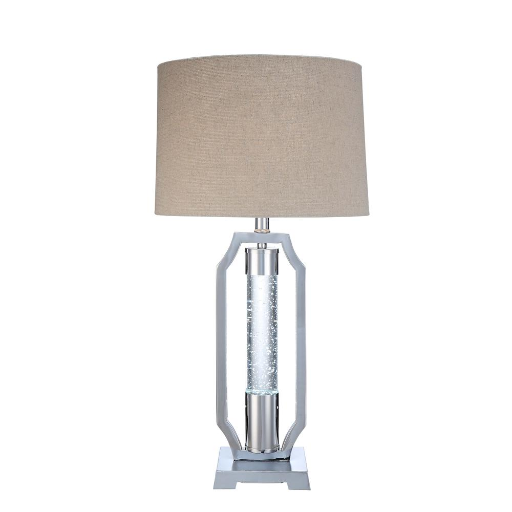 Cici Table Lamp, Chrome. Picture 2