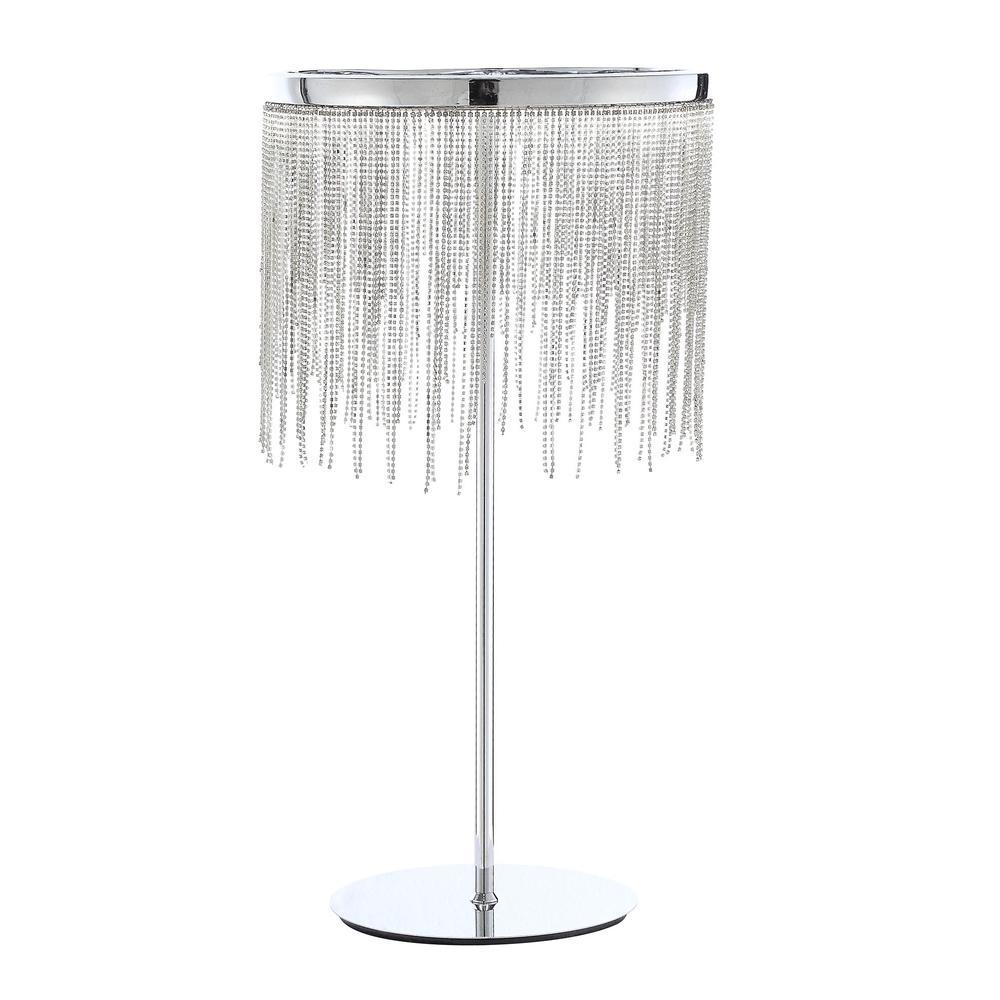 Aurinda Table Lamp, Sandy Nickel. Picture 7