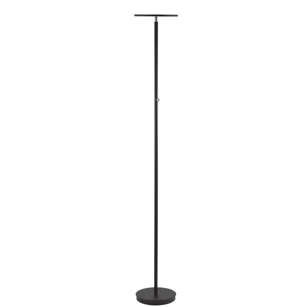 Massey Floor Lamp, Black. The main picture.