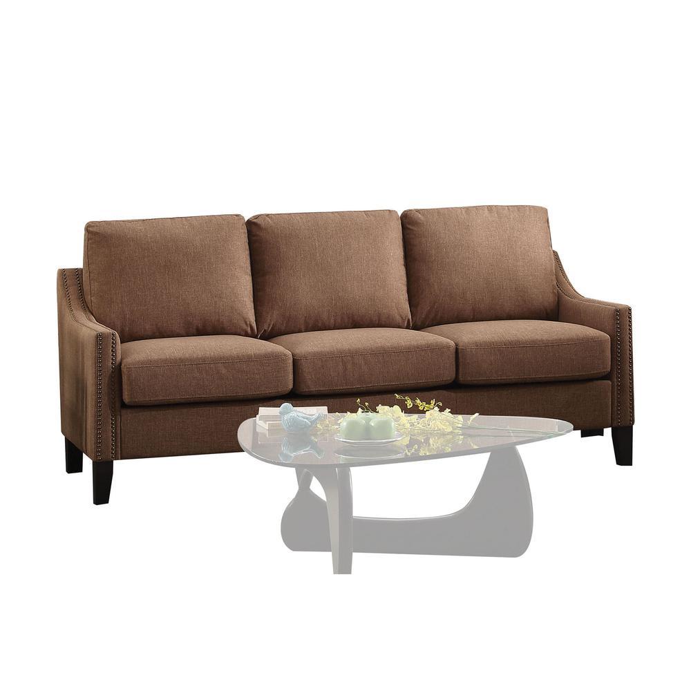 Zapata Sofa, Gray Linen. Picture 4