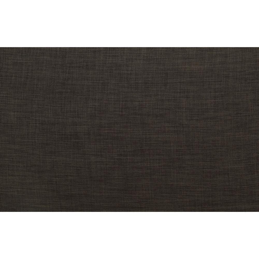 Laurissa Sectional Sofa & Ottoman (2 Pillows), Charcoal Linen (1Set/2Ctn). Picture 4