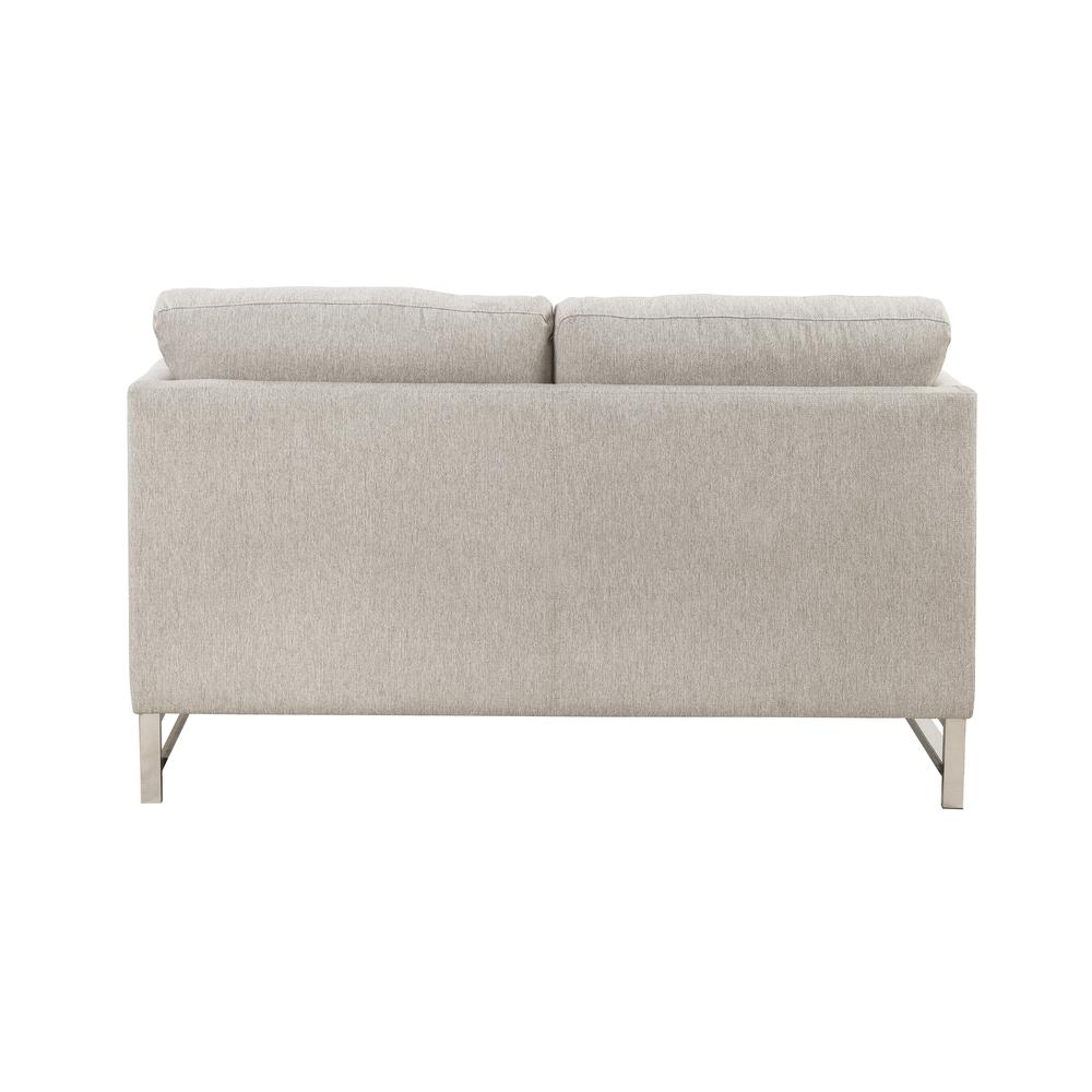 Varali Sofa w/2 Pillows, Beige Linen. Picture 7