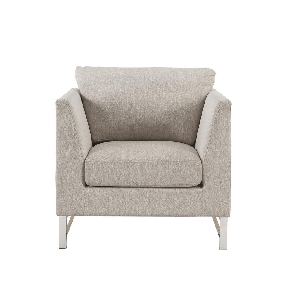 Varali Chair, Beige Linen. Picture 3
