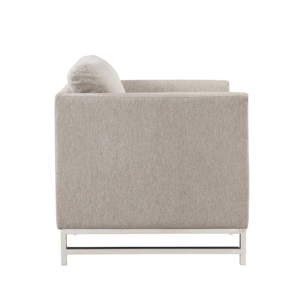 Varali Chair, Beige Linen. Picture 4