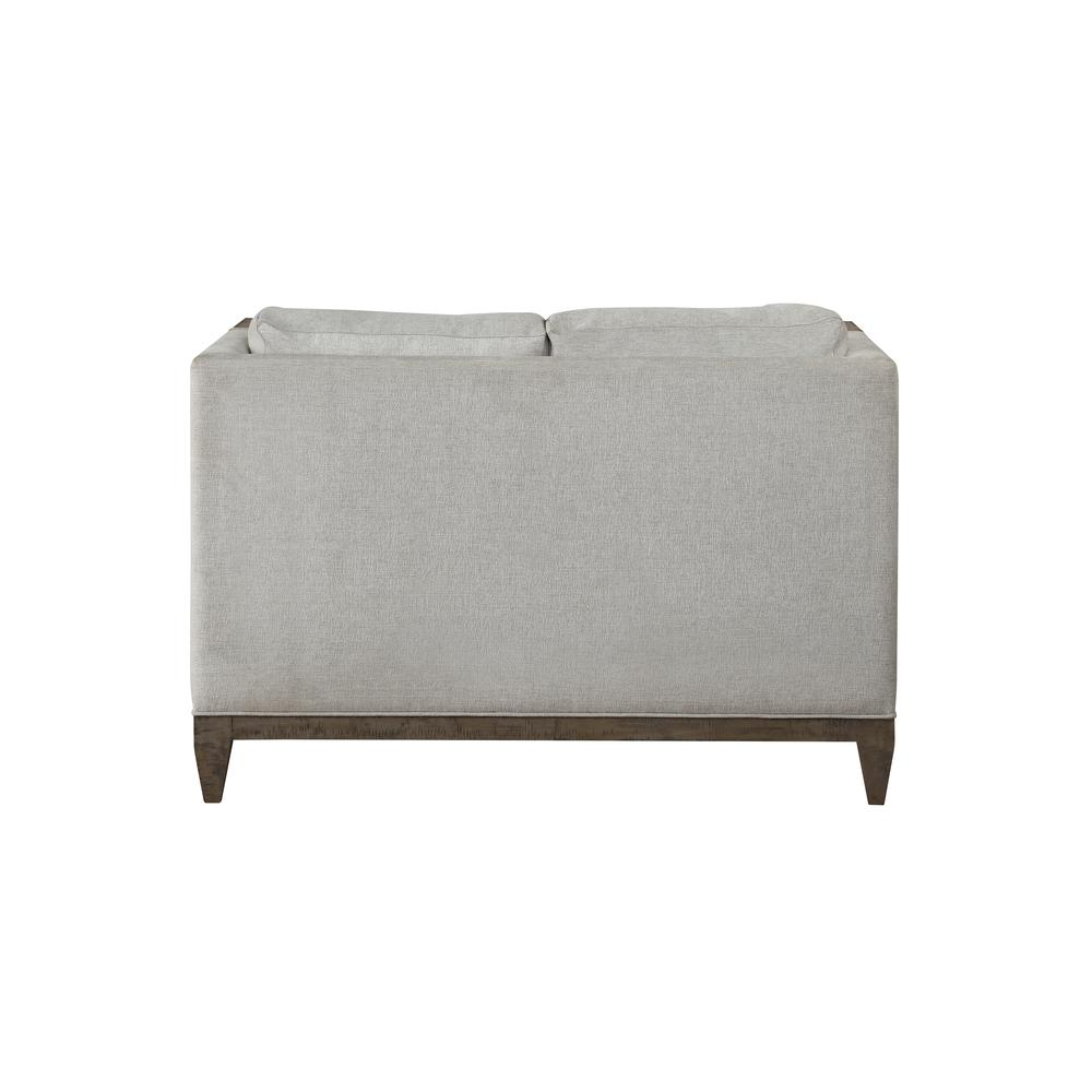 Artesia Loveseat, Fabric & Salvaged Natural. Picture 2